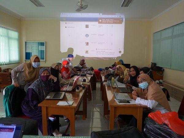 Pelatihan Guru mengenai Aplikasi E-Learning Madrasah